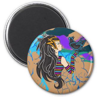 Princesa del Nilo Imán Redondo 5 Cm