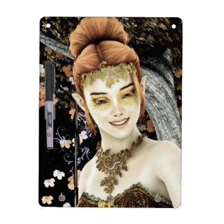 Princesa del otoño pizarras blancas de calidad