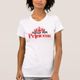 Princesa del parque de caravanas playeras