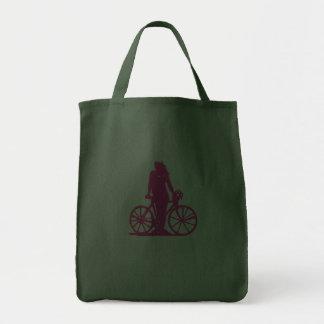 Princesa del pedal de BikeChick Bolsas De Mano