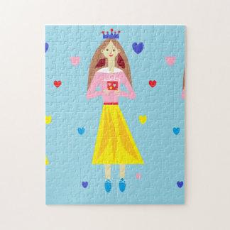 Princesa del penique puzzle con fotos