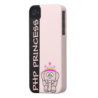 Princesa del PHP: Mujeres en el desarrollo del Web Funda Para iPhone 4 De Case-Mate