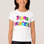 Princesa del piano remeras