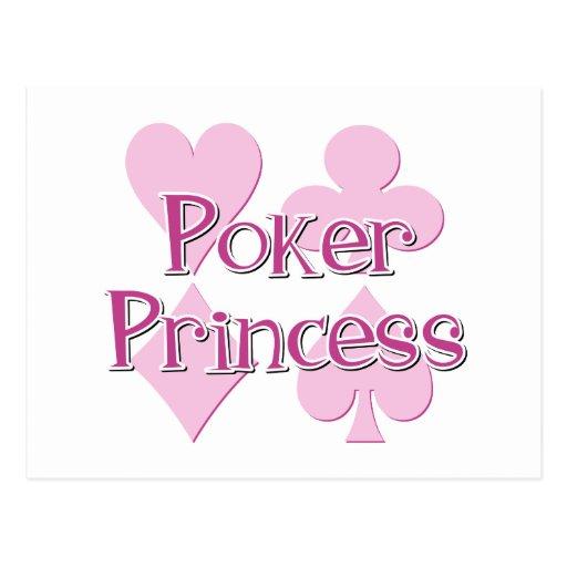Princesa del póker postales