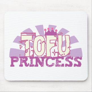 Princesa del queso de soja mouse pad