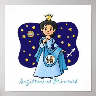 Princesa del sagitario póster