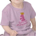 Princesa del tenis #1 camisetas