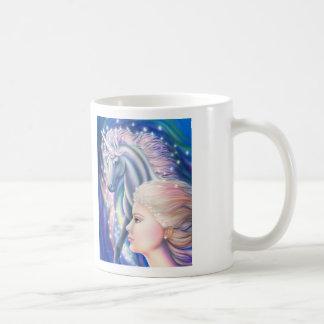 Princesa del unicornio tazas