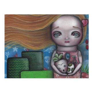 Princesa del videojuego tarjeta postal