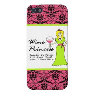 """Princesa del vino """"algún día mi príncipe Will Come iPhone 5 Coberturas"""