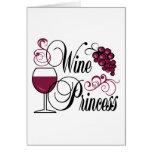 Princesa del vino felicitaciones