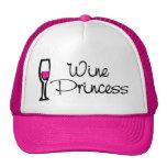 Princesa del vino gorro