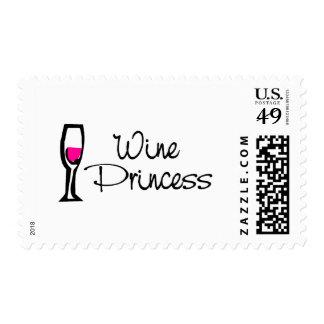 Princesa del vino sello