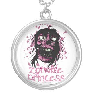 Princesa del zombi colgante redondo