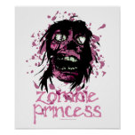 Princesa del zombi posters