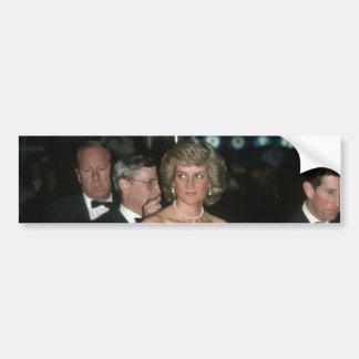 Princesa Diana Alemania 1987 Pegatina De Parachoque