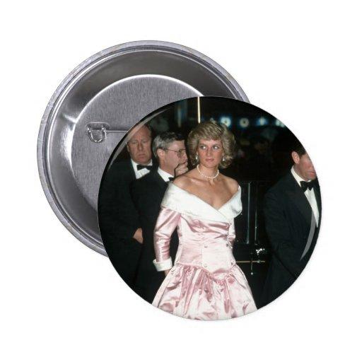 Princesa Diana Alemania 1987 Pin