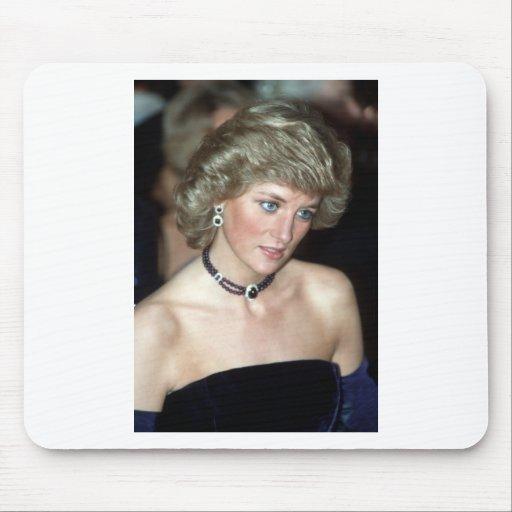 Princesa Diana Alemania 1987 Alfombrilla De Ratones