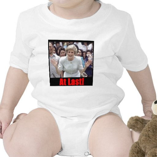 ¡Princesa Diana At Last! Camisetas