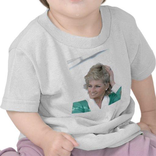 Princesa Diana Australia 1988 Camiseta
