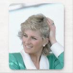 Princesa Diana Australia 1988 Tapetes De Ratón