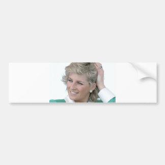 Princesa-Diana-Australia Pegatina De Parachoque