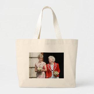 Princesa Diana-Barbara Bush Bolsa Tela Grande
