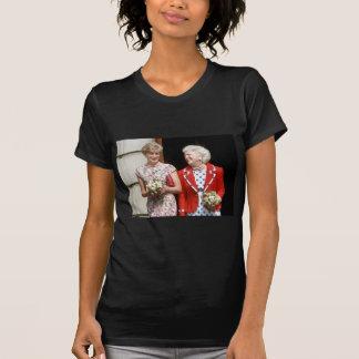 Princesa Diana-Barbara Bush Camiseta