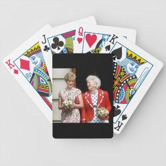 Princesa Diana-Barbara Bush Cartas De Juego
