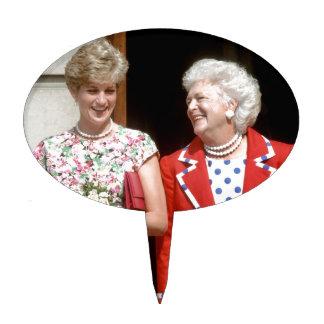 Princesa Diana-Barbara Bush Decoración Para Tarta