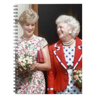 Princesa Diana-Barbara Bush Libretas