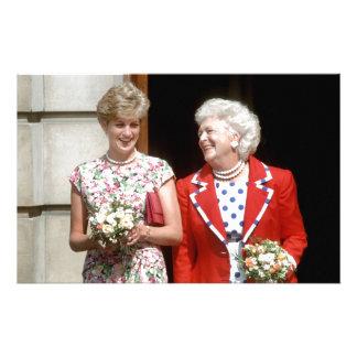 Princesa Diana-Barbara Bush Papeleria De Diseño