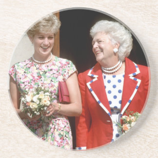 Princesa Diana-Barbara Bush Posavaso Para Bebida
