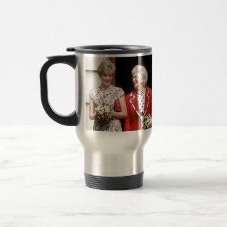 Princesa Diana-Barbara Bush Taza De Viaje De Acero Inoxidable