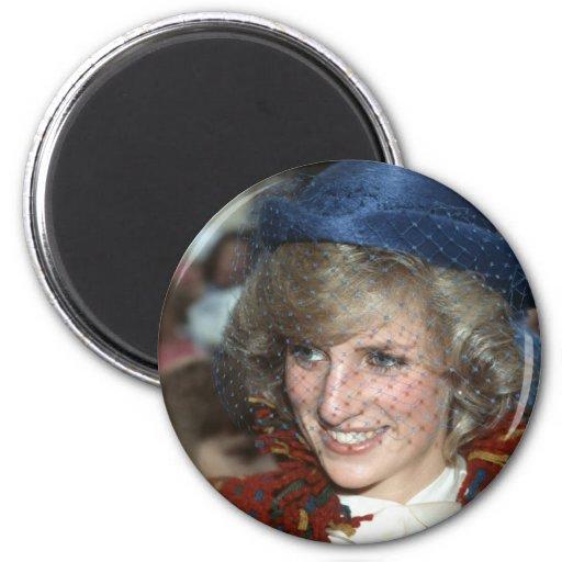 Princesa Diana Bishopton 1983 Imanes De Nevera