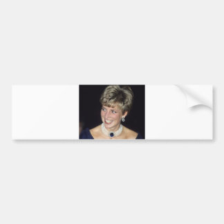 Princesa Diana Canadá 1991 Pegatina Para Auto