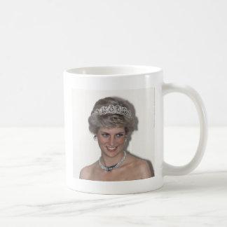 Princesa Diana Collection de HRH Taza Básica Blanca