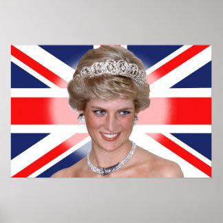Princesa Diana de HRH Poster