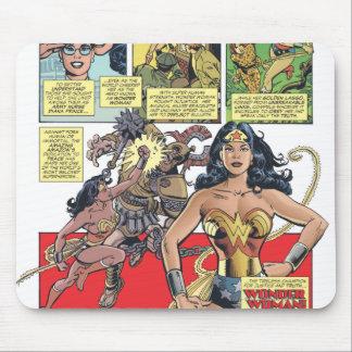 Princesa Diana de la Mujer Maravilla Tapetes De Raton