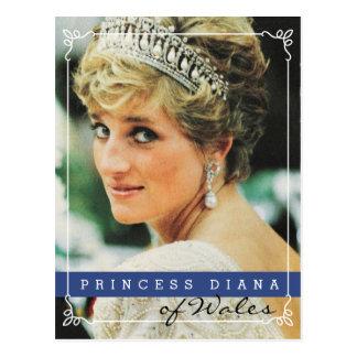 Princesa Diana de País de Gales Tarjeta Postal
