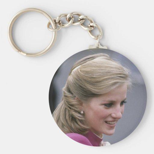 Princesa Diana Ealing 1984 Llavero Redondo Tipo Pin