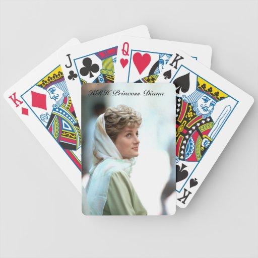 Princesa Diana Egipto 1992 de HRH Barajas De Cartas
