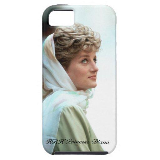 Princesa Diana Egipto 1992 de HRH iPhone 5 Carcasas