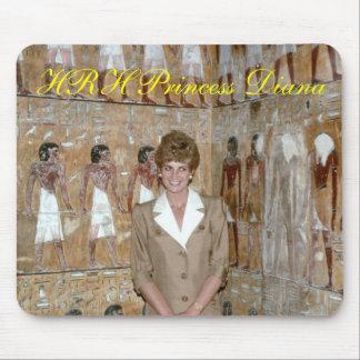 Princesa Diana Egipto 1992 de HRH Alfombrillas De Raton