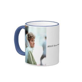Princesa Diana Egipto 1992 de HRH Tazas
