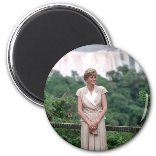 Princesa Diana el Brasil 1991 Imán