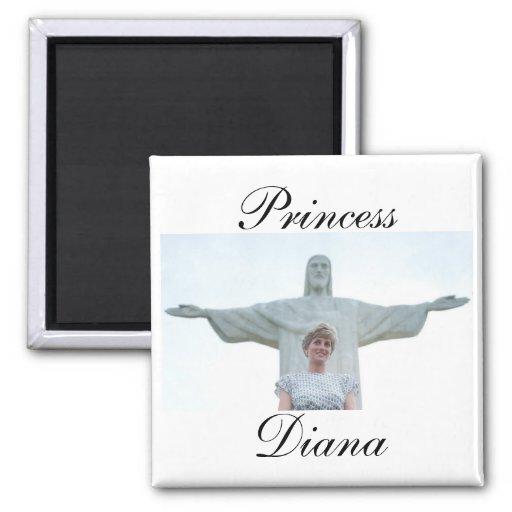 Princesa Diana el Brasil Imán De Frigorifico