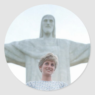 Princesa Diana el Brasil Pegatinas