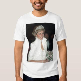 Princesa Diana Hong Kong 1989 Camisas