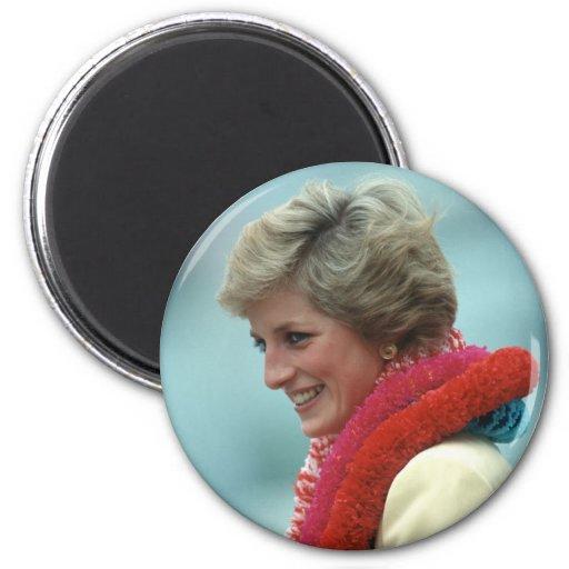 Princesa Diana Hong Kong 1989 Imán De Nevera